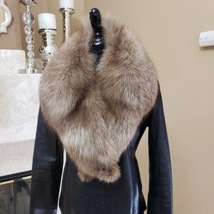 Jackets & Blazers - Red fox fur collar